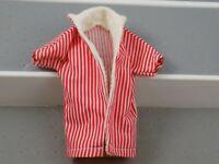 Vintage Mattel Ken Doll Vintage 1961 #750 Red Stripe Swim Jacket Barbie