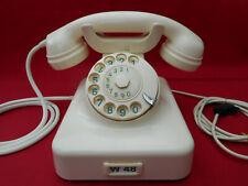 ALTES BAKELIT TELEFON   W48 +   FR Reiner +  1962 +  Wählscheibe + restauriert