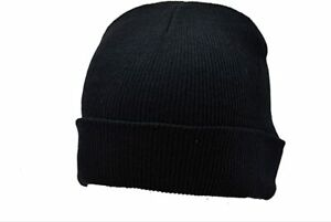 Black Wolly Hat