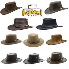 Barmah Hat Regenhut Rain Outback Australien Western-Hut Leder-Hut Cowboy-Hut
