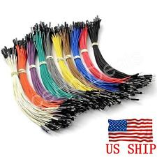 40pcs 20cm Male to Female Pin Header Dupont Wire Color Jumper Cable For Arduino