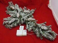 Gerson, Christmas Pine Cones Cross, Light Up  Wreath, Centerpiece