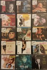 Lot Of 19 New & SEALED movie LOT (ORIGINAL VCDS) RARE Comedy Drama VCD free shpg