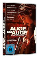 AUGE UM AUGE - OUT OF THE FURNACE   DVD NEU