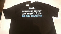 Onfire Mens Treachery T-Shirt With Chest and Back Print Black BNWT RRP £19.99