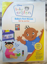 Disney Baby Einstein Baby Baby's First Move Get Up & Go DVD [ages 3 months plus]