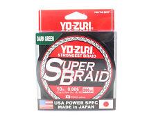 [Yo Zuri] Duel P.E Line Super Braid 300YDS 10Lbs - 0.15mm Green R1264-DG