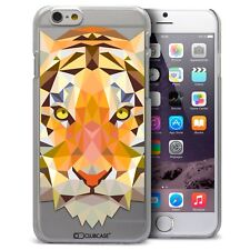 Coque Housse Etui Pour iPhone 6 Plus 5.5 Polygon Animal Rigide Fin  Tigre