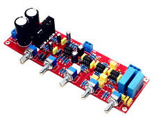 YJ NE5532 HiFi 2.1 tone preamplifier completed board