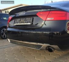 For Audi A5 Sportback  Rear Bumper Diffusor exhaust on both sides s line look