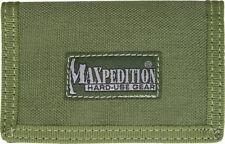 Maxpedition Micro Wallet OD Green 0218G Super thin design. Truly a minimalist's