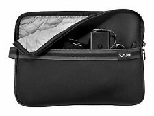 Sony Vaio 11 inch Neoprene Laptop Sleeve Carrying Storage Case Cover Bag Black