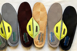 SKECHERS Memory Foam Air Cooled Relaxed Fit (Width E) Insoles US Mens Size 7-14