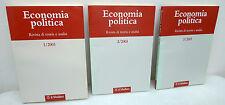 ECONOMIA POLITICA.Rivista di teoria e analisi 1/2/3 2003,Mulino[annata completa