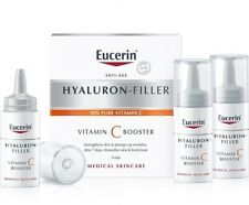 Eucerin Hyaluron filler Vitamin C Booster 3x8ml with 10% Pure vitamin C | New*