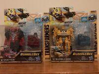 "Transformers Energon Igniters 5"" Set Of Shatter & Bumblebee Camaro E2095 / E2092"