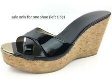 Amputee Replacement One Shoe LEFT Foot ONLY: Jimmy Choo Perfume Wedges sz: 40