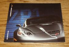 Original 2009 Chevrolet Corvette ZR1 Foldout Sales Brochure 09 Chevy