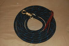 14' LEAD ROPE w/ PARELLI SNAP FOR NATURAL HORSE TRAINING, MANY COLORS AVAILABLE!