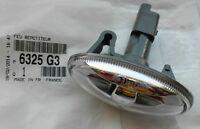 Genuine Indicator Side Repeater Lamp For Peugeot 206 207 407 607 Partner 6325G3