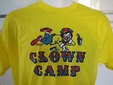 Clown Camp Professional Clowns training camp t shirt 1970s vintage mint shape