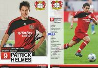 Patrick HELMES + Bayer 04 Leverkusen + Saison 2009/2010 + Autogrammkarte