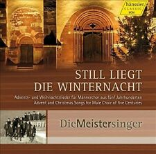 NEW CD Still liegt die Winternacht: Advent and Christmas songs for Male Choir