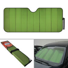 Car Window Auto Sun Shade Windshield - Green Accordion Sun UV Window Protect
