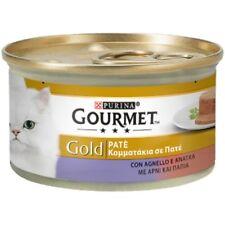 Gourmet Gold Patè con Agnello e Anatra Cibo in Scatoletta per Gatti