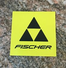 Fischer Ski Sticker - Skis Skiing Snowboard Mountain Sports Gear