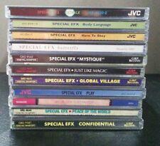 Loris-lots   Special EFX: Lot of 12 CDs    LIKE NEW        DB 2661
