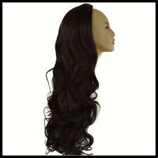 Perruques et toupets brun foncé pour femme