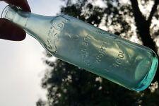 Old Antique Hygeia Bottling Works Pensacola Florida Fla SS Coca Cola Coke Bottle