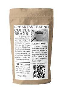 Breakfast Blend Coffee Fresh Roasted Arabica 500g 1kg Beans