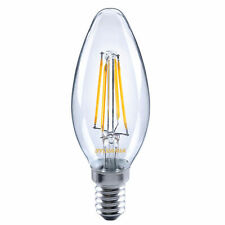 Ampoules transparent pour bougie pour la maison E14