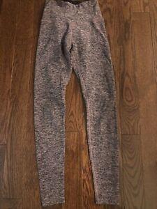 Beyond Yoga Pink Black 7/8 Spacedye Leggings Size Small