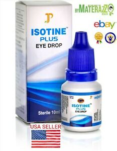 OFFICIALLY USA STORE BEST Eye Drops ISOTINE PLUS CURE CATARACT Glaucoma EXP.2022