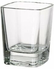 Circleware Square Shot Glasses, Set of 6, 1 oz., Clear