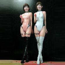132MM 1/12 Unpainted Beauty Standing Girl Garage Kit Resin Figure Model Statue