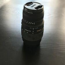 Sigma DG 70-300mm  Lens For Canon AF