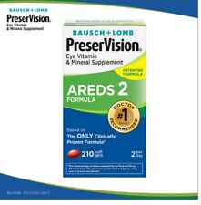 Bausch & Lomb PreserVision Eye Vitamin- AREDS 2 Formula 210 Softgels
