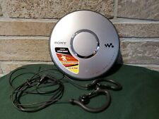 Sony CD Walkman G-Protection Digital Mega Bass. D-EJ011 w Headphones Tested