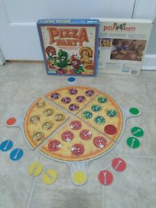 Vintage 1987 Parker Brothers Pizza Party Board Game Rare Matching