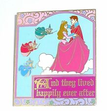 LE Disney Pin✿Sleeping Beauty's Royal Ball Story Book Cover Merryweather Fairies