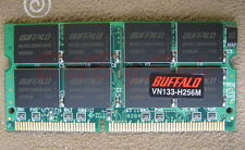 Japan BUFFALO 256M X1 SODIMM PC100/133 256MB 144PIN 16chip LOW density US RAM 12
