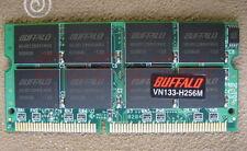Japan BUFFALO 256M X1 SODIMM PC100/133 256MB 144PIN 16chip LOW density US RAM 12