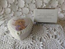 Avon Fine Collectibles Precious Moments Porcelain Birthstone Box April