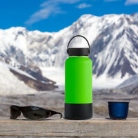Outdoor Silicone Round Nonskid Water Bottle Mug Cup Sleeve Cover 9cm Diameter