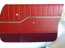 HQ GTS MONARO PREMIER DOOR TRIMS RED WITH EXCHANGE TOPS