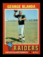 1971 Topps #39 George Blanda  EXMT X1498704